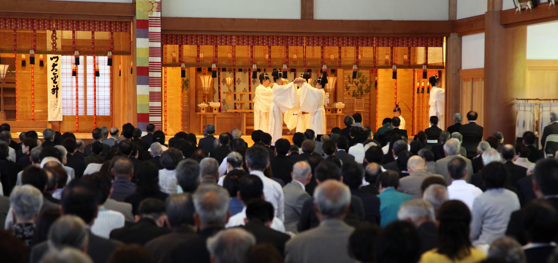 大本の霊祭