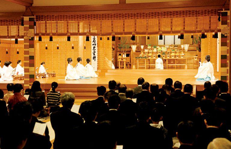 両聖地、東京本部で新年祭(1月1日)