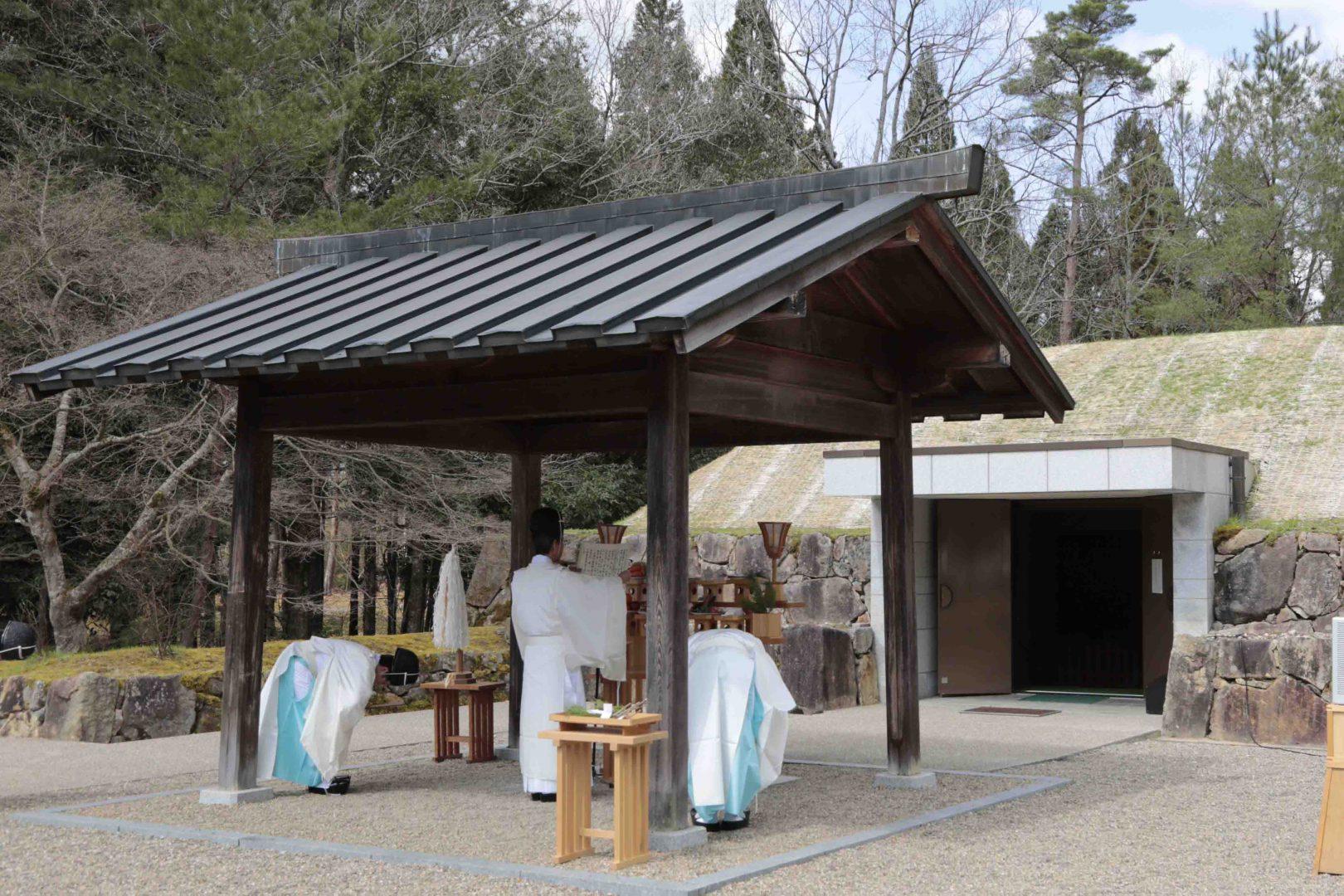 天王平墓地春季合同祭典(3月20日)